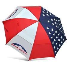 Sun Mountain UV USA Manual Open Umbrella