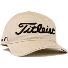 Titleist Men's Tour Unstructured Personalized Hat - Stone