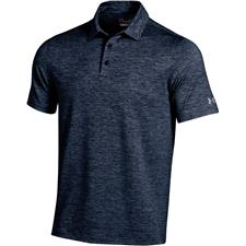 Under Armour Midnight Navy Elevated Heather Polo