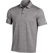 Under Armour True Grey Heather Elevated Heather Polo