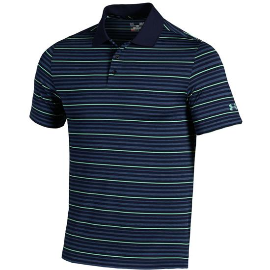 Under Armour Men's Fore Heather Stripe Polo