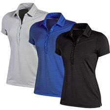 Under Armour Zinger Stripe Polo for Women