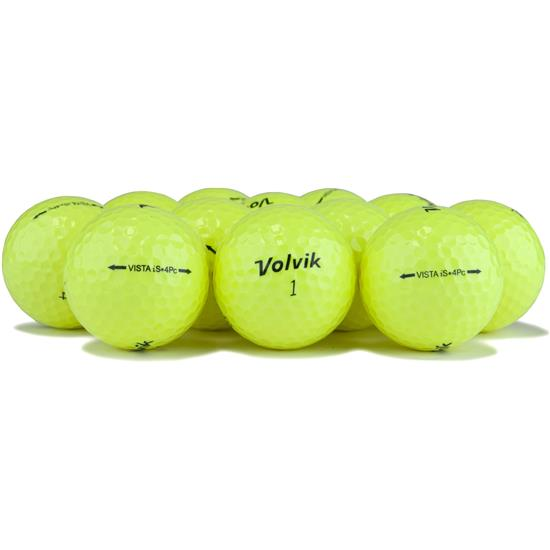 Volvik Vista iS Yellow Golf Balls
