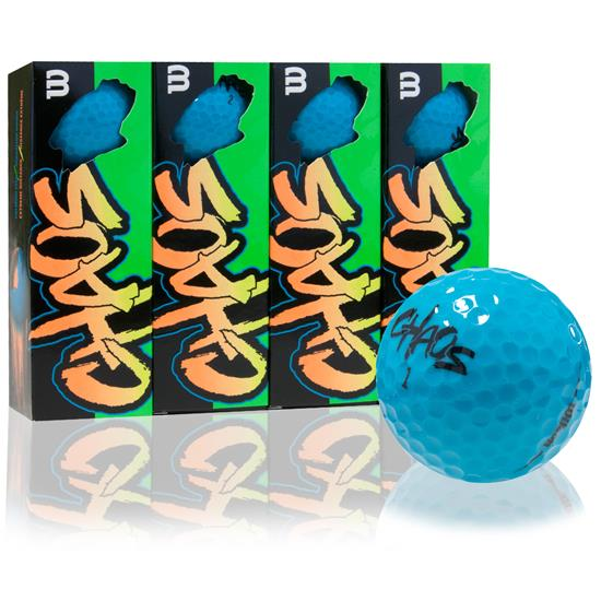 Wilson Chaos Blue Golf Balls