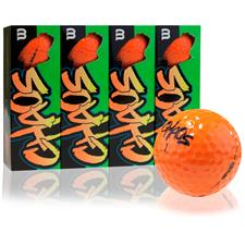 Wilson Chaos Orange Golf Balls