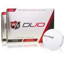 Wilson Staff Duo Golf Balls - 2 Dozen