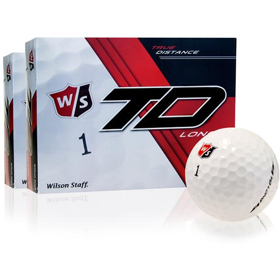 Wilson Staff True Distance Long Golf Balls - 2 Dozen