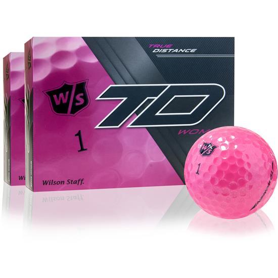Wilson Staff True Distance Women Pink Golf Balls - 2 Dozen