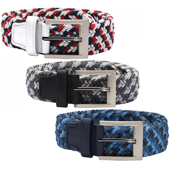 Adidas Braided Weave Stretch Belt