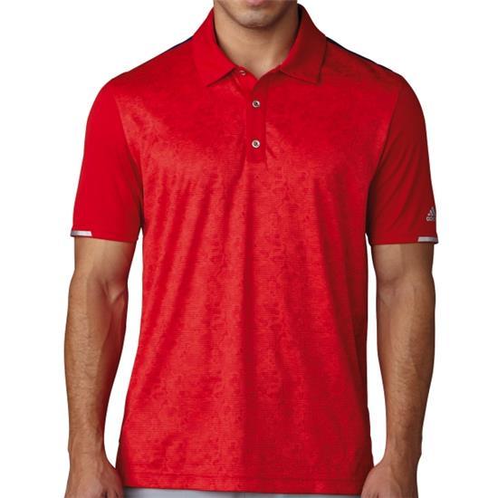 Adidas Men's ClimaChill 2D Camo Print Polo