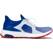 Adidas Blue-White-Red LE US Open ClimaCross Boost Golf Shoe for Women