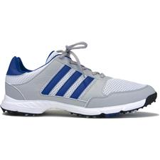 Adidas Men's Tech Response Golf Shoes - White-Collegiate Royal-Clear Onix - 10 Medium
