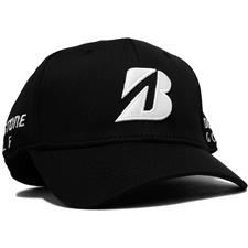 Bridgestone Men's Mesh Fitted Cap - Black