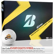 Bridgestone Custom Logo Tour B330 B Mark Golf Ball