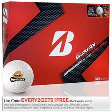 Bridgestone Custom Logo Tour B330-RX B Mark Golf Ball