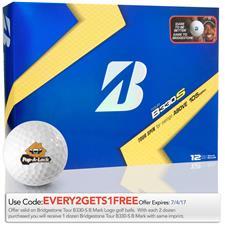 Bridgestone Custom Logo Tour B330-S B Mark Golf Ball