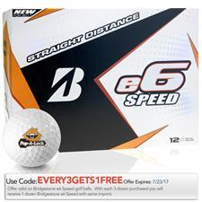 Bridgestone e6 Speed Custom Logo Golf Balls