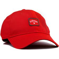 Callaway Golf Men's 82 Label Fitted Hat - Red - Large/X-Large