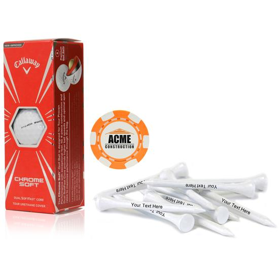 Callaway Golf Sleeve, Chip Marker and Tee Kit