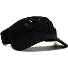 Callaway Golf Men's Liquid Metal Visor - Black-Black