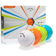 Callaway Golf Custom Logo Supersoft Multi-Color Golf Balls