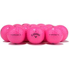 Callaway Golf Logo Overrun Supersoft Pink Golf Balls