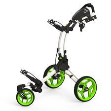 Clicgear Rovis RV1S Swivel Push Cart - Arctic-Lime