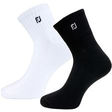 FootJoy Men's ComfortSof Quarter Socks