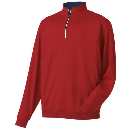 FootJoy Men's Performance Half-Zip Gathered Waist Pullover