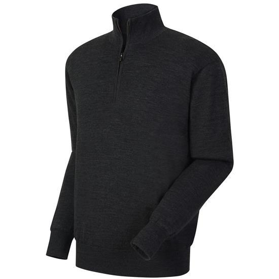 FootJoy Men's Performance Lined Half-Zip Solid Sweater