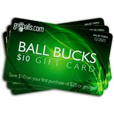 Golfballs.com Ball Bucks