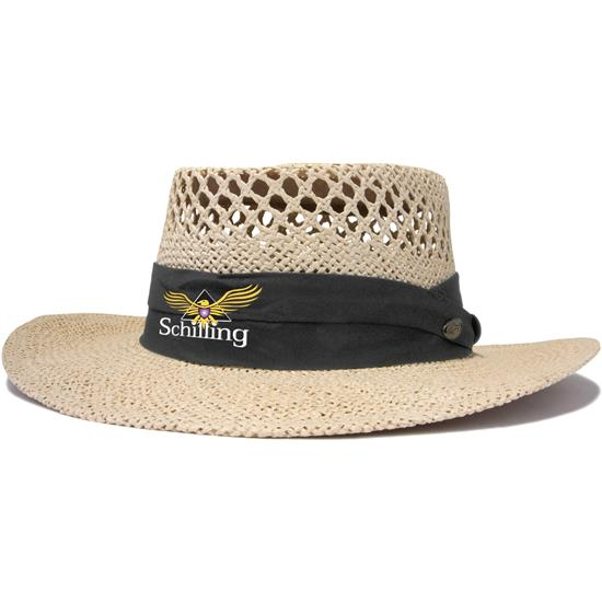 Greg Norman Men's Cresting Straw Hat