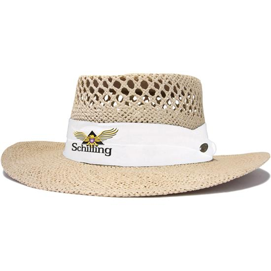 Greg Norman Men's Cresting Straw Hat