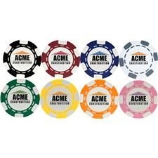 Logo 6-Stripe Poker Chip Ball Marker