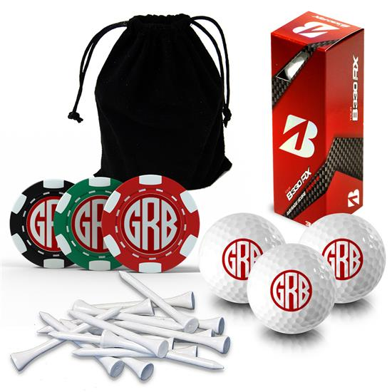 Logo Golf Monogram Gift Set & Photo Gift Set