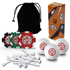 Logo Golf Monogram Gift Set - Bridgestone e6 Soft Sleeve