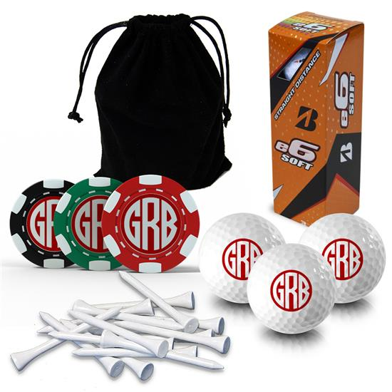 Logo Golf Monogram Gift Set & Photo Gift Set
