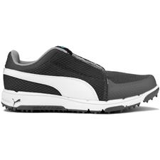 2a11d6d4aa2a Puma Quiet Shade-White-Bluefish Grip Sport Disc Golf Shoe for Juniors