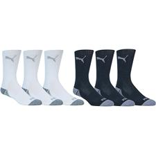 Puma Men's Pounce Crew Sock - 3 Pair