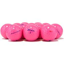 Srixon Logo Overrun Soft Feel Lady Pink Golf Balls