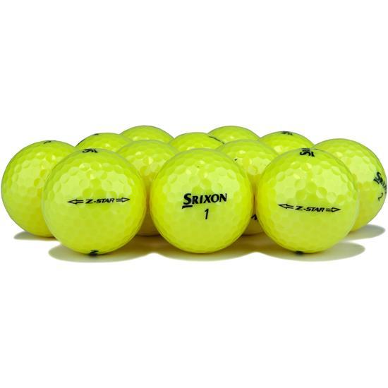 Srixon Z Star 4 Tour Yellow Golf Balls