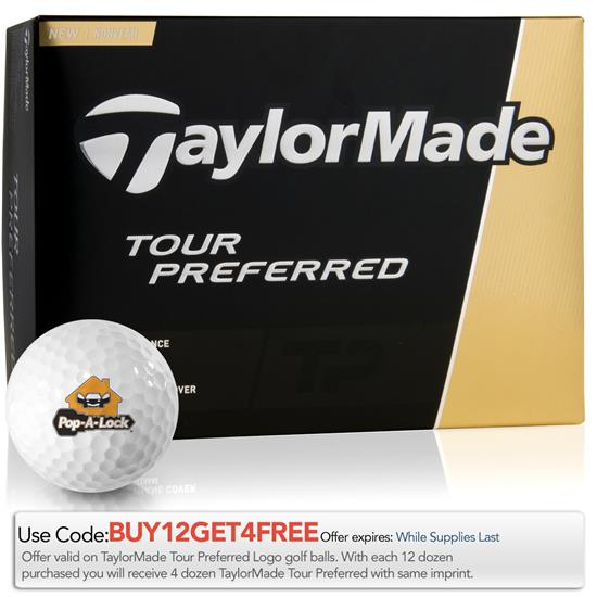 Taylor Made Tour Preferred Golf Balls