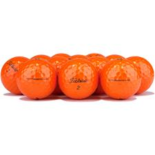 Titleist Prior Generation Velocity Orange Overrun Golf Ball