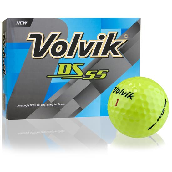 Volvik DS-55 Yellow Golf Balls