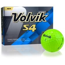 Volvik S4 Green Golf Balls