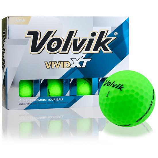 Volvik Prior Generation Vivid XT Matte Green Golf Balls