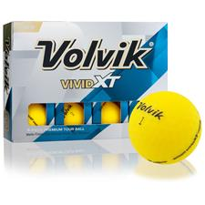 Volvik Prior Generation Vivid XT Matte Yellow Golf Balls