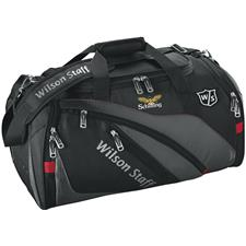 Wilson Staff Duffle Custom Logo Bag - Black
