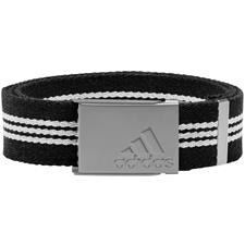 Adidas Stripe Webbing Belt - Black-Mid Grey - One Size Fits Most