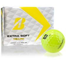 Bridgestone Extra Soft Yellow Personalized Golf Balls